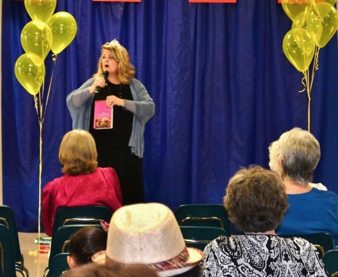 Kathy Murphy speaks