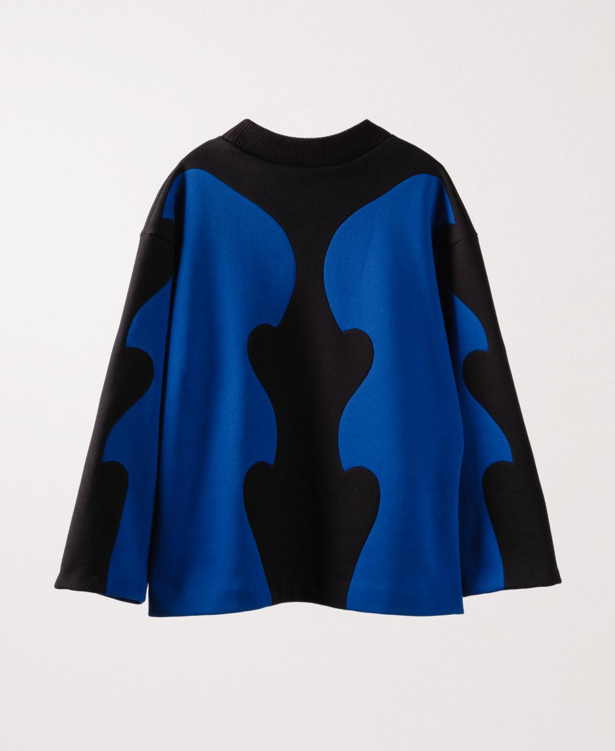 Bowie Kiss Black Sweatshirt