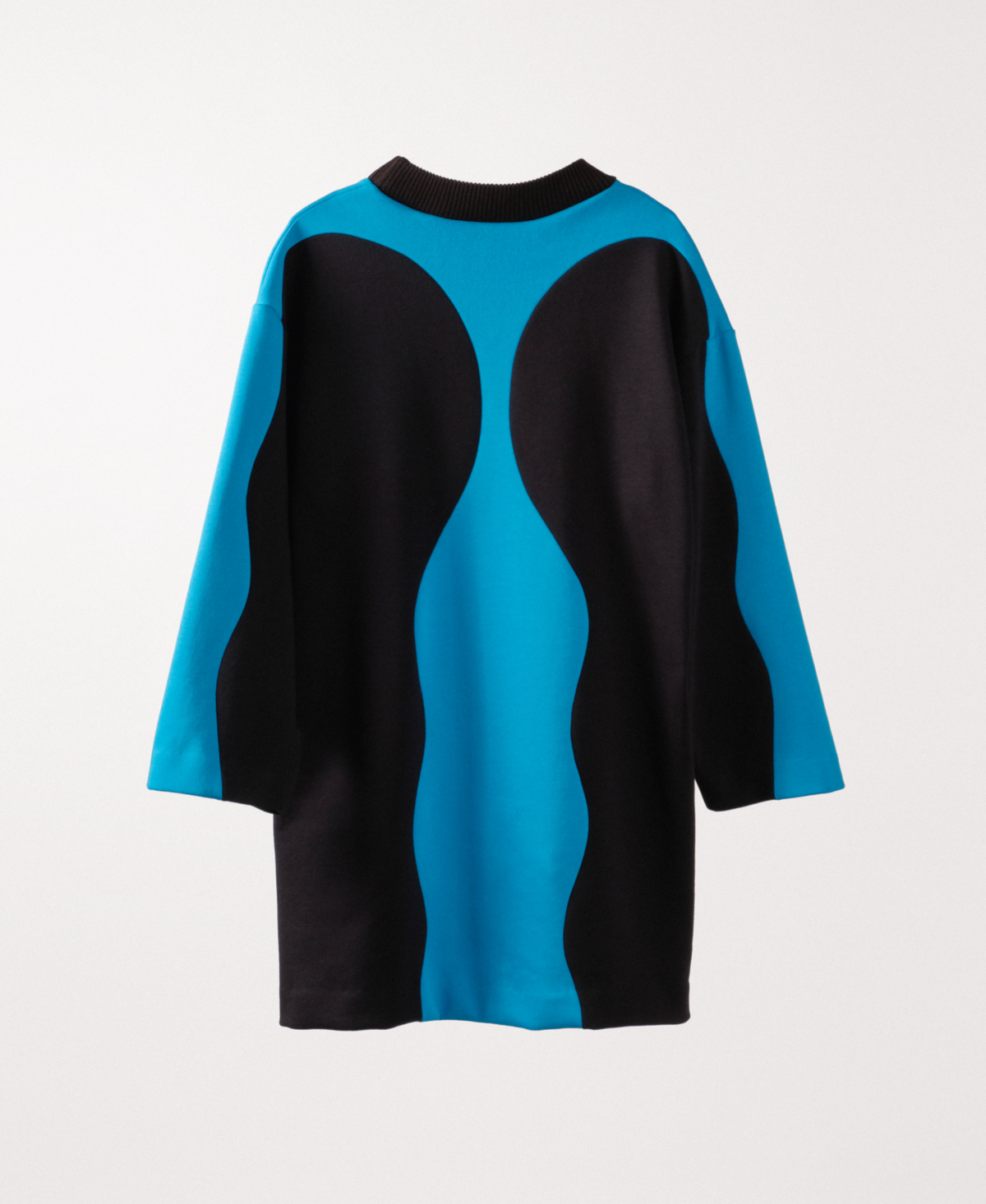 Queer Kiss Blue Dress