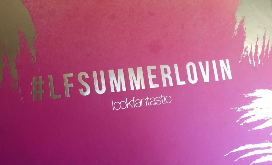 LookFantastic Beautybox juli 2016