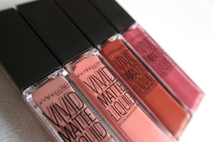Vivid Matte Liquid Lipstick