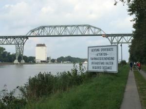 Schleswig-Holstein Hochdonn Eisenbahnhochbrücke