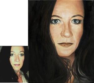 Ihr Ölportrait vom Foto