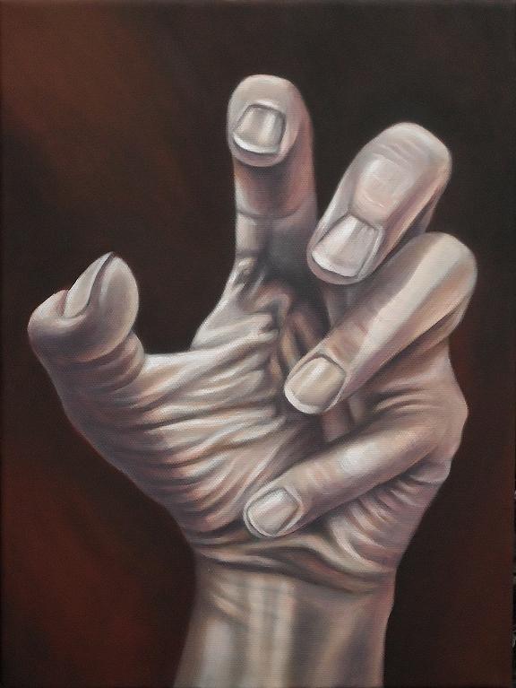 Hand, Kunst, Malerei Gemälde Painting