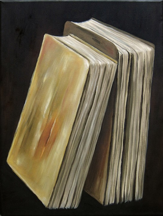 Bücher Kunst Ölmalerei Gemälde Painting Fine Art
