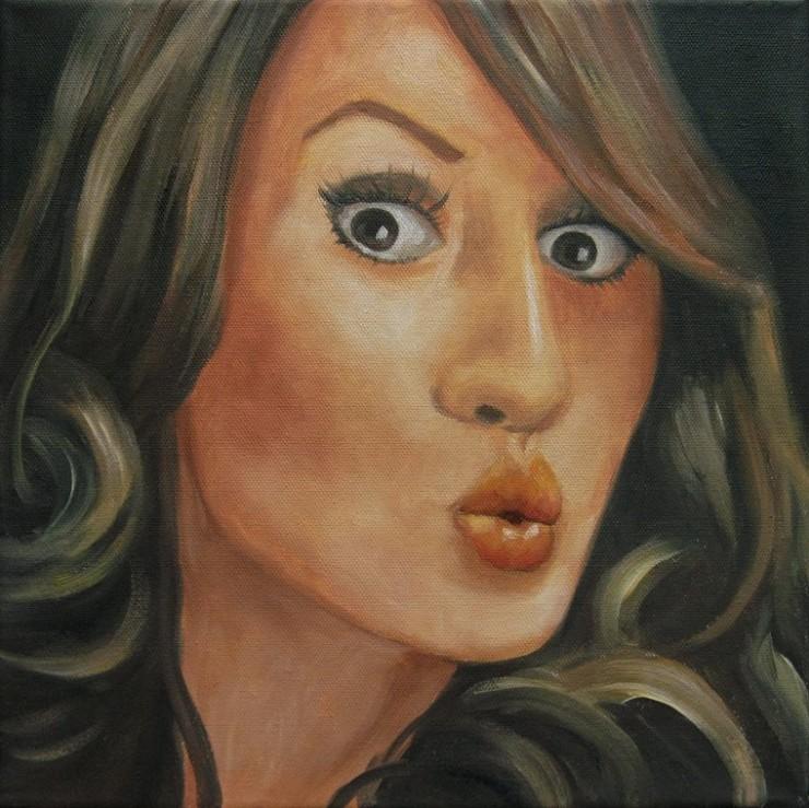 Lucy Portrait Kunst Ölmalerei Gemälde Painting