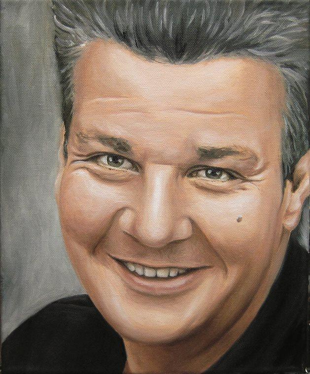 Alex, Portrait Kunst Malerei Ölgemälde Painting