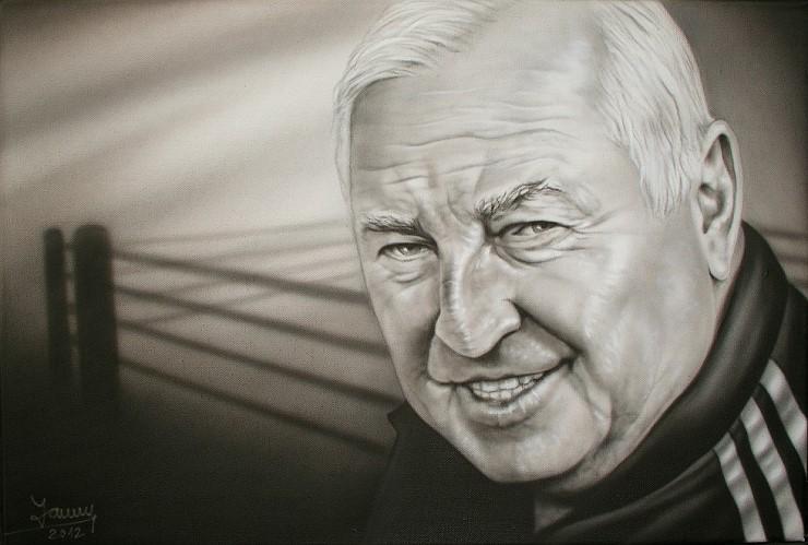 Ulli Wegner Airbrush Portrait Kunst Malerei Gemälde Painting