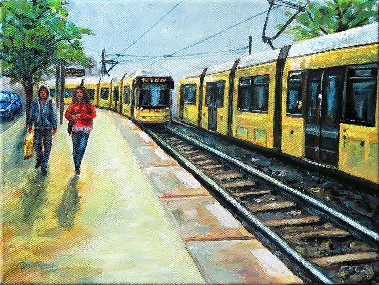 M10 Berlin Kunst Malerei Gemälde Painting