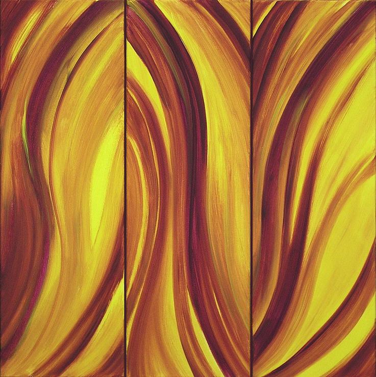 Mystic Kunst Malerei Gemälde Painting abstrakt
