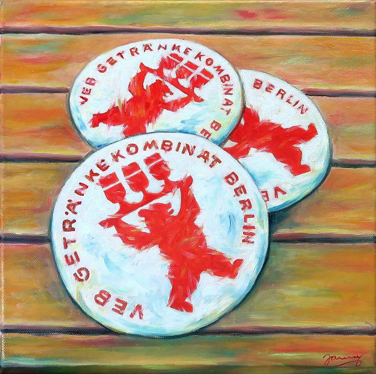 Getränkekombinat, Kunst Malerei Gemälde