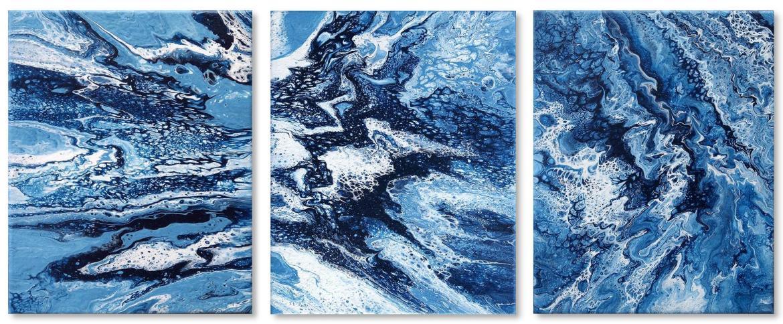Fluid Painting gemälde malerei acrylbild abstrakt