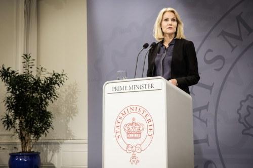 Prime minister Helle Thorning-Schmidt