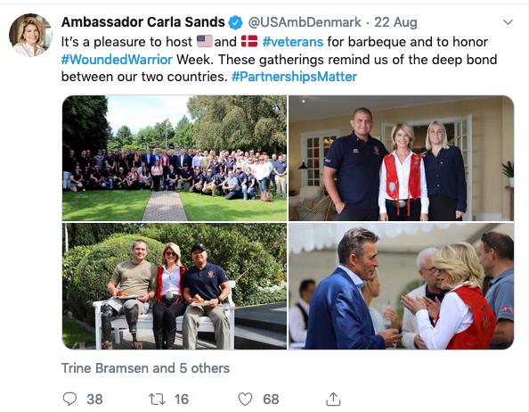 War without remorse: A callous tweet about a tasteless celebration
