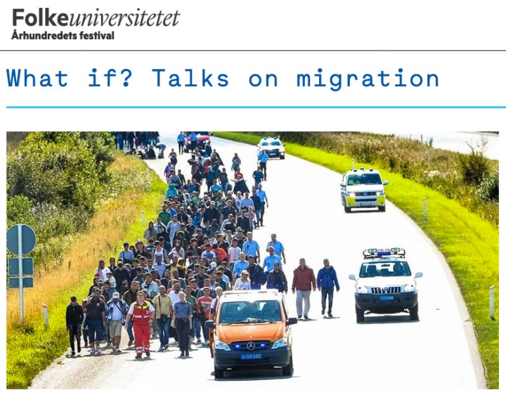 What if? Talks on migration. A series of video essays