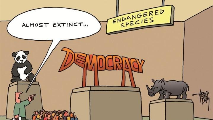 Tænk hvis der ikke fandtes politiske partier og sæbeoperaer