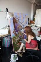 Heidi Taillefer painting