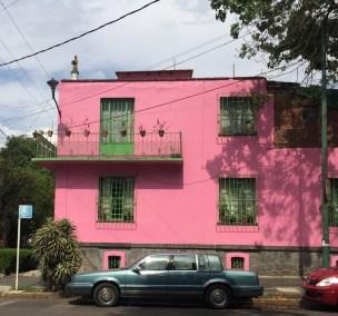 Frida Kahlo neighbourhood Mexico city