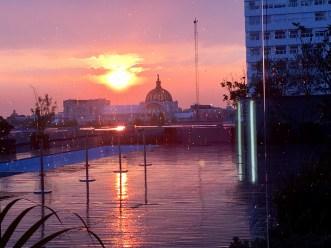 Sunrise in Mexico City