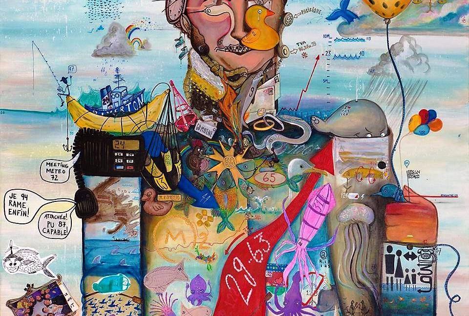 Eric SANTERRE | Thriving Imaginative Artist | Romeo's Gin 03 edition