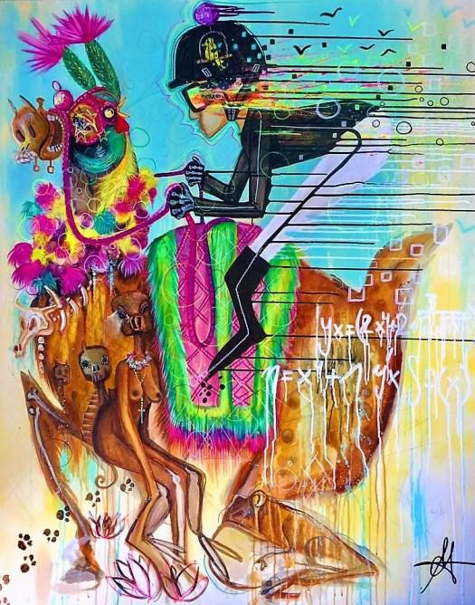 Eric Santerre Cheval Chameau ART