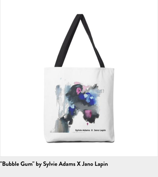 Sylvie Adams Tote Bag
