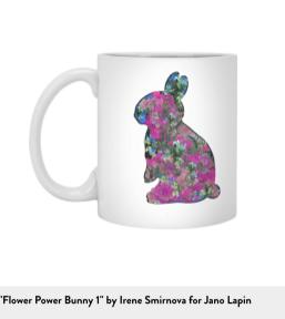 Jano Lapin Flowwe Bunny MUG