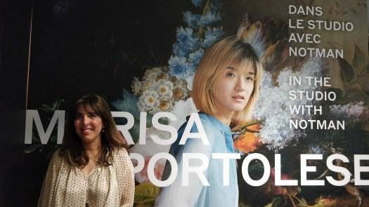 Artist-in-residence Marisa Portolese