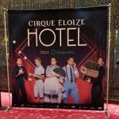Cirque Eloize HOTEL. Promo Poster. Photo: Alexandra Margs