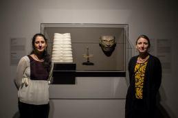 Connections exhibit MMFA. Maria Ezcurra and Nuria Carton de Grammont. Photo: Sébastien Roy