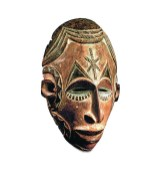 Mask, Nigeria. World Cultures Collection. Photo: MMFA