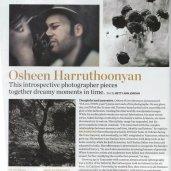 Article on Osheen Harruthoonyan. Canadian House & Home Magazine. Author: Betty Ann Jordan