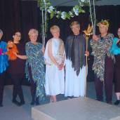 Cast of Birds - Dramatis Personae Spring 2017. Photo: Westmount Community Theatre