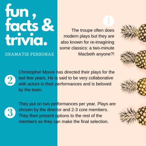 Dramatis Personae Fun Facts (2)