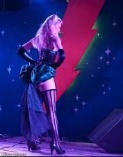Past ShazamFest burlesque perfomer. Photo: Claude Dufresne