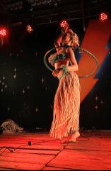 Past ShazamFest hula hoop perfomer. Photo: Claude Dufresne