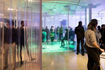 Cadavre Exquis Phi Centre - VR stations. Photo: Sandra Larochelle