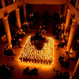 Candlelight Concerts Social Distancing. Piano.