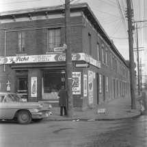 Goose Village. Photo: VM94-C290-005, Archives de la Ville de Montréal
