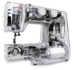 Janome JR1012 Showing Metal Frame