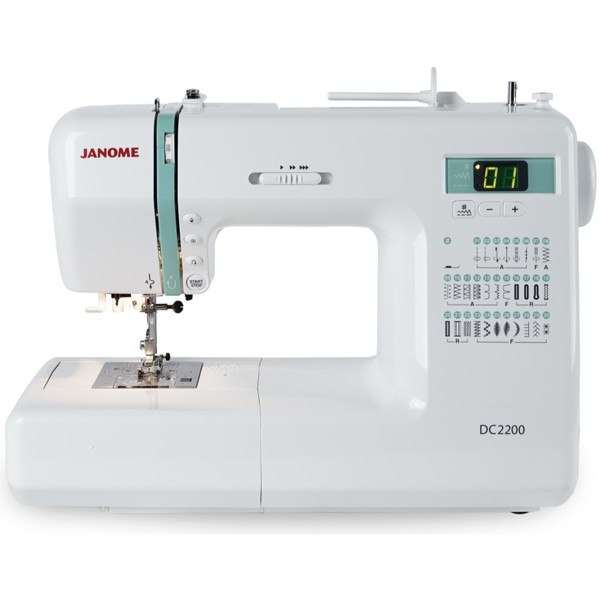 Janome DC40 Computerised Sewing Machine Janome Sewing Centres Perth Best Sewing Machines