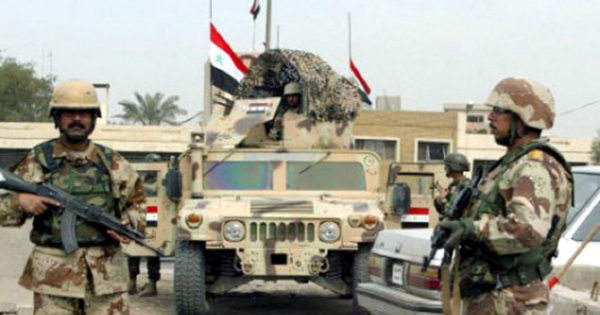 بلدة القيارة العراقية بعد تحريرها