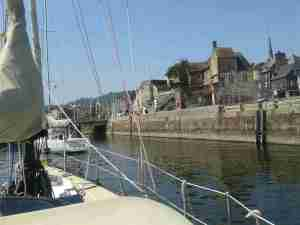 Au pittoresque Honfleur Avant Port