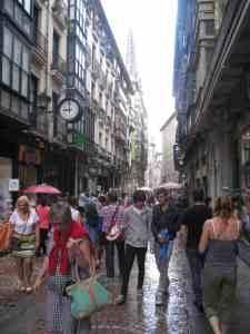 Altstadtgasse Bilbao