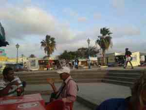 Market in  Mindelo
