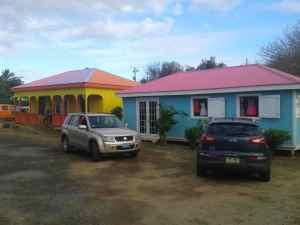 Bunte Haeuser Spanish Town