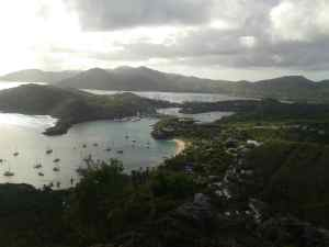 English Harbour from Shirley Heights