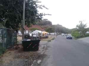 Strasse in Spanish Town