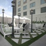 The newly opened AltoRex rooftop lounge, above Pacci Ristorante in Hotel Palomar