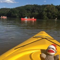 Chattahoochee River, kayak